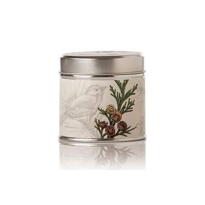 Rosy Rings Forest Soy tin - Handmade in the usa Poured with 100-percent organic soy wax Tins contain 30-percent post-consumer recycled content - living-room-decor, living-room, candles - 31imcY8RCSL. SS400  -