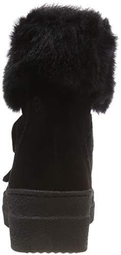 1 26481 Femme Tamaris Noir black De Neige 21 Bottes pdx4w8P