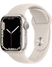 AppleWatch Series7 (GPS) • 41‐mm kast van sterrenlicht aluminium • Sterrenlicht sportbandje- Standaardmaat