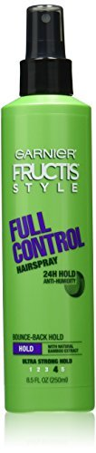 Fructis Style Full Control Ultra Strong Hair Spray Garnier Hair Spray Unisex 8.5 oz (Pack of 7) by Garnier Skin