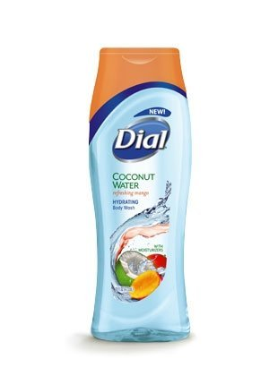 (Dial Coconut Water Refreshing Mango Pack of 2)