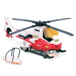 amazon com tonka light and sound rescue helicopter red