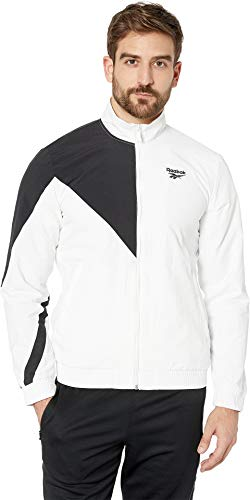 Reebok Men's Classics Track Top White Medium ()