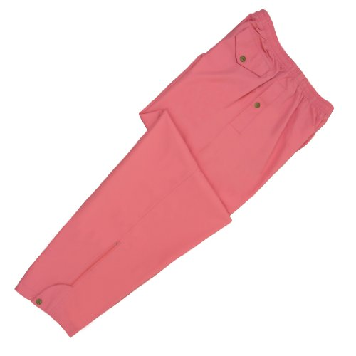 Monterey Club Ladies Lightweight Rainwear Rain Pants #2861 (Blush, Medium)