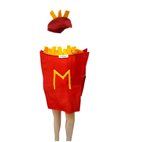 French fries fancy dress for kids,Object Costume for