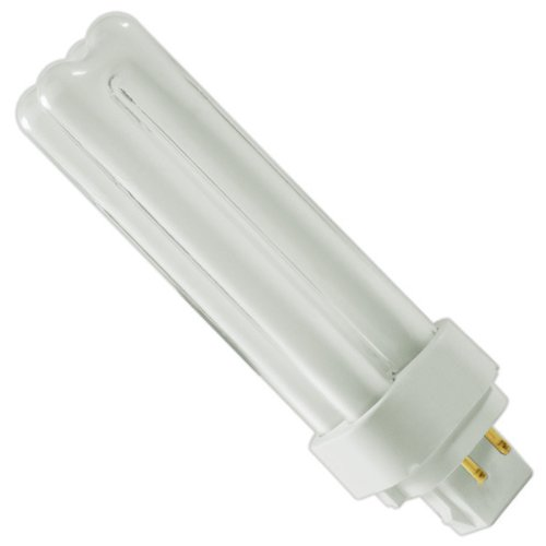 GE 97597 Series 97597-F13Dbx/841/Eco4P-13 Watt Quad-Tube Compact Fluorescent Light Bulb, 4 Pin, 4100K Base 4100k Quad Tube