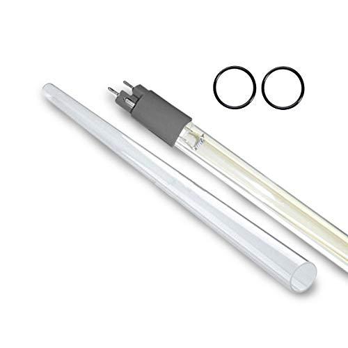 LSE Lighting QL-600 UV Lamp//Quartz Sleeve Combo Kit for VP600//VP600M
