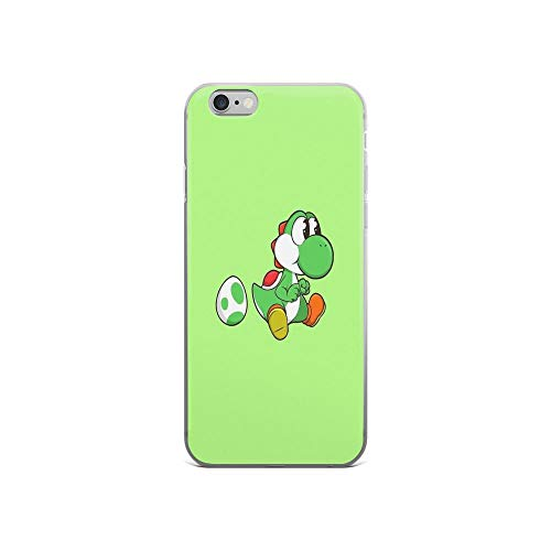 iPhone 6 Case iPhone 6s Case Clear Anti-Scratch Yoshi Cover Phone Cases for iPhone 6/iPhone 6s, Crystal Clear -
