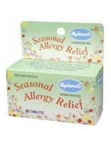 Hylands, Seasonal Allergy Relief, 60 Tablets (Best Seasonal Allergy Relief)