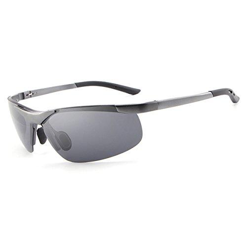 HDCRAFTER Vintage Polarized Driving UV Sunglasses for Men Sports Golf Goggles E012 (E806 Grey, - Ball Sunglasses Tennis