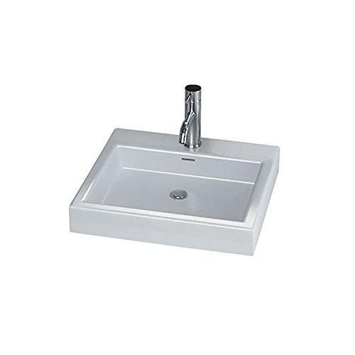 Cantrio PS-7078 Ceramic Above Mount Bathroom Sink, 19 x 1...