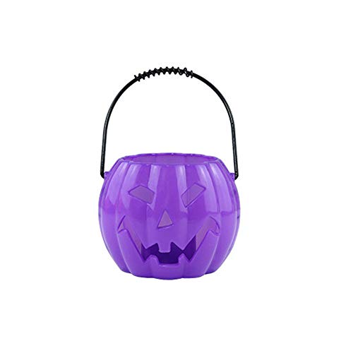 DBHAWK Halloween Pumpkin Light Decor Glowing Ghost Called/Voice-Activated Flashing/Lantern Hanging LED Lamp Indoor/Outdoor Props Party Decor Props -