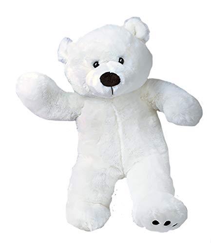 Cuddly Soft 16 inch Stuffed White Polar Bear...We Stuff