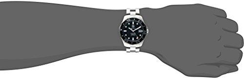Tag Heuer Men's Aquaracer Calibre 5 Stainless Steel Black Dial Watch #WAN2110.BA0822