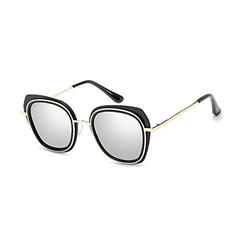 de Sol creativos Regalos polarizado Brillante Estrellas Sol Gafas oscuras Grandes Color Axiba y Hombre Gafas Tendencia C Gafas de qRwxxS4IF