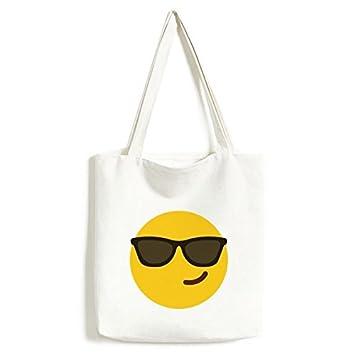 Gafas de sol Cool amarillo Cute Lovely Chat en Línea Emoji ...