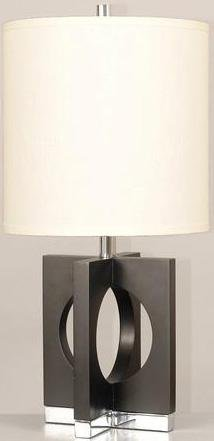 Lite Source LS-21692 Table Lamp with Off White Fabric Shades, 16