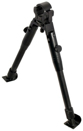 UTG Low-Profile Dragon Claw Clamp-on Barrel Bipod, Outdoor Stuffs