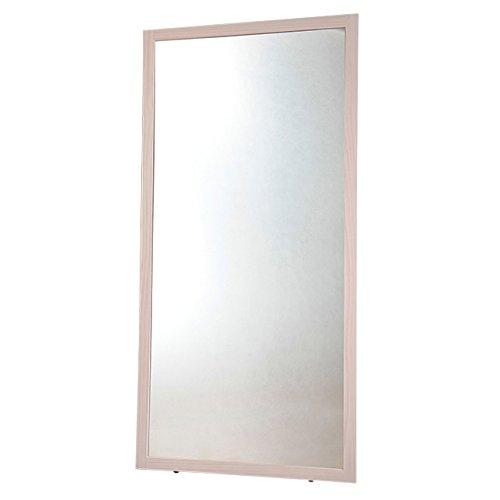 【YHC】鏡 ミラー 姿見 幅90cm×高さ180cm 大型ミラー XL 全身鏡 ダンス用ミラー ホワイトウォッシュ B01H3IJ4Y4 ホワイトウォッシュ ホワイトウォッシュ