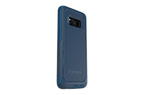 OtterBox COMMUTER SERIES for Samsung Galaxy S8 - Retail Packaging - BESPOKE WAY (BLAZER BLUE/STORMY SEAS BLUE)