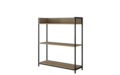 Manhattan Comfort 117AMC152 Ellis 2. Steel Rope Bookcase -  - living-room-furniture, living-room, bookcases-bookshelves - 31in3IFbvbL -