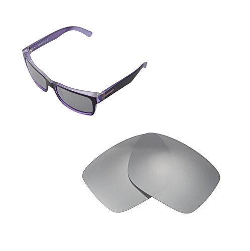 1eb31a3c46b Walleva Replacement Lenses for VonZipper Elmore Sunglasses - Multiple  Options Available (Titanium - Polarized)