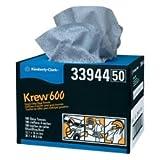 KIM33944 Kimberly Clark Krew 600 HD Towels 12 x 16 3/4 Twin Pop-Up