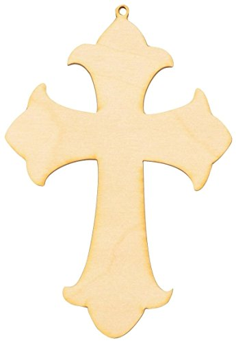 Woodcrafter Wooden Cross Cutout 7