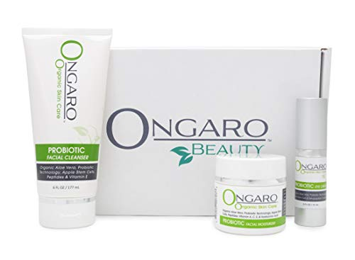 Re-Balance Kit by Ongaro Beauty; Daily Skincare Regime Includes Facial Cleanser, Eye Cream and Facial Moisturizer to Cleanse, Hydrate and Protect; Anti-Aging Formula
