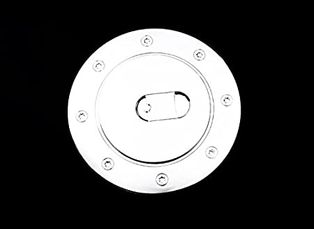 AutoModZone Chrome ABS Fuel Tank Gas Door Cap Cover for 07-17 Toyota Tundra