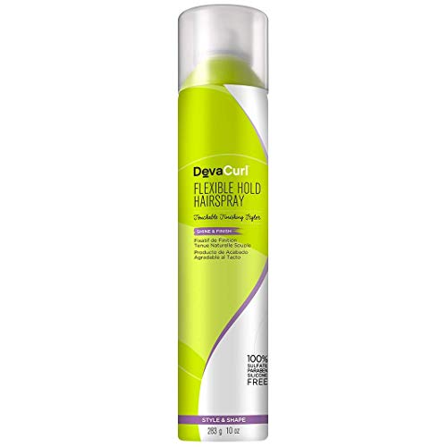 - DEVA CURL Flexible Hold Hair Spray 10oz