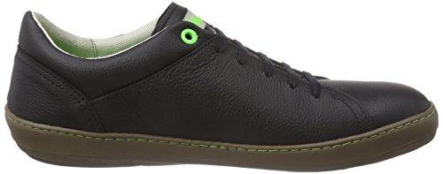 El Naturalista N206 METEO - zapatos con cordones de cuero hombre negro - negro