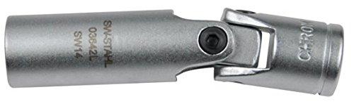 SW-Stahl junta universal llave para bujías 14 mm, 12-Kant, 0,95 cm, 03649L: Amazon.es: Bricolaje y herramientas