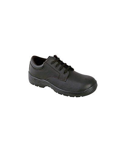 Alexandra stc-fw17bk-13Sicherheit Schuhe, Uni, Leder, Größe: 13, Schwarz