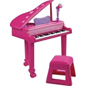 Kids Pink Grand Piano 990020233 Amazon Co Uk Toys Amp Games