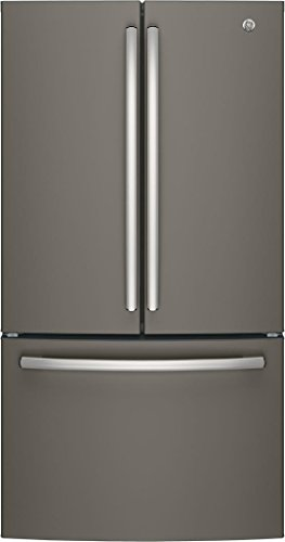 """GE GNE27JMMES 36"""" French Door Refrigerator with 27 cu. ft. T"""