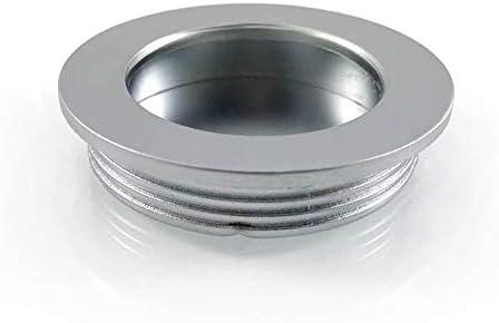 2 X Mprofi MT® Tirador Empotrado de Acero Inoxidable para Puerta Corredera Armario Cajón Mueble Gabinete 40,5mm: Amazon.es: Bricolaje y herramientas