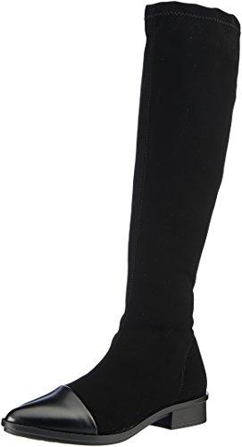 NR Rapisardi WoMen E703 Boots Black (Black Nabuk/Black Boston 01nkbt-w)