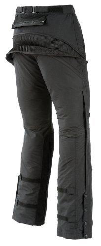 Joe Rocket Alter Ego Women's Motorcycle Riding Pants (Black, Large)