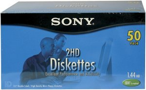 Sony 1.44MB Floppy disk (50-Pack) by Sony