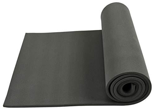 XCEL - Extra Stiff Foam Cosplay Fabrication Roll, Grey, Size 54 Inch x 12 Inch x 1/4 Inch -