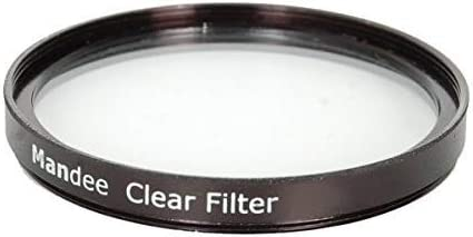 T5I 5D 60Da 70D 5Ds Sl1 40D T1I T4I T3 T5 6D 50D T3I T2I 1D Digital SLR Camera 60D MANDEE 43mm Clear Filter for Canon Eos Rebel T6S 7D T6I