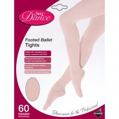 GIRLS FULL FOOT BALLET TIGHTS WHITE AGE 3-5 YEARS BY SILKY NEW DANCE