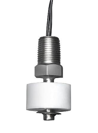 Madison M4035 Subminiature de plástico interruptor de flotador de nivel de líquido Vertical con pantalla plana