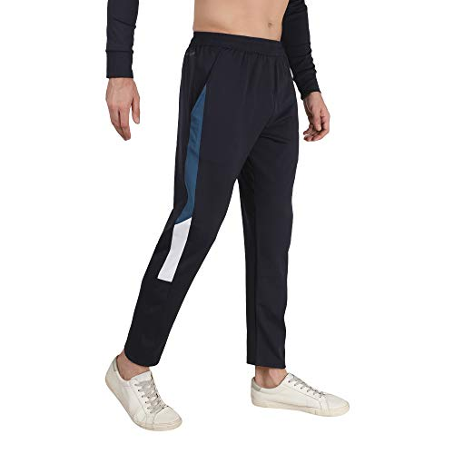 Dpassion 4 Way Lycra Regular Fit Track Pants for Men   Lower for Men   Pyjama with Side Pockets for Casual   Track Pant for Boys
