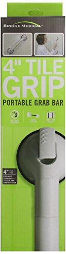 Bridge Medical Tile Grip Portable Grab Bar, 4 Inch