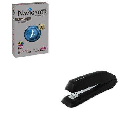 KITSNANPL1728SWI54501 - Value Kit - Navigator Platinum Paper (SNANPL1728) and Swingline Standard Strip Desk Stapler (SWI54501)