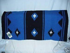 Mayatex Mayatex Show Saddle Blanket Pad Horse Blue Tack Western
