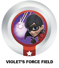 Disney Infinity Series 3 Power Disc Violet's Force Field (Incredibles)