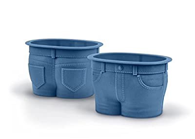 GetTen® New MUFFIN TOPS Baking Cups (Blue (Set of 4)